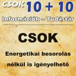 CSOK energetikai besorolás nélkül is igényelhető