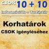 Korhatárok CSOK igényléséhez